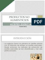 Tecnicas de Extraccion de Aceites Esenciales