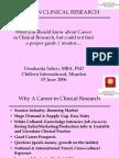 Career in CR