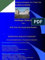 Semiologie Digestiv - Curs 1