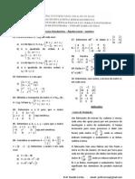 Exercícios Introdutórios-matrizes