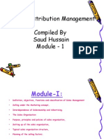 Sales & Distribution Management Course PPT.ppt