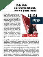 Folleto 1º Maio CGT Coruña