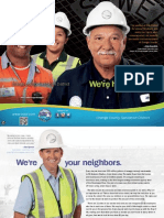 We're here for you!  -- general information brochure