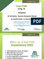 Total ITSM Presentation