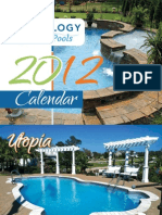 2012 Trilogy Pools Calendar