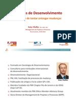 Projetos de Desenvolvimento - 4ª PMI-REP 2012