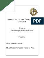 finanzas públicas mexicanas