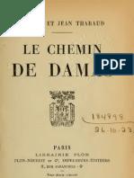 Tharaud Jérôme et Jean - Le chemin de Damas