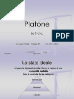 Presentazione dello Stato platonico