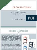 Guia SolidWorks-Prensa Hidráulica