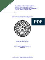 Documento de Apoyo Derecho Mercantil i