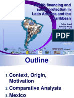 Depth of Financial Risk Portection in Latin American Health Systems and Role of Health Systems Desing 130711