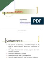1. cycloconverters