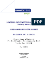 CX10677 Prelim Design EOI Pre-Qualification Requirements Brief