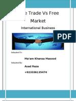 Free Trade vs Free Market