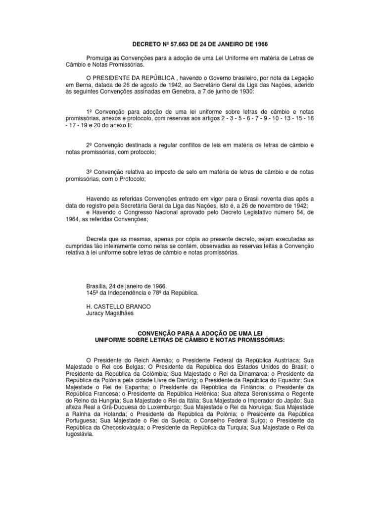 lei uniforme de genebra pdf