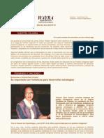 Boletin Wayra. Año 6, N°61 Octubre 2010