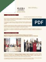 Boletin Wayra. Año 6, N°62 Noviembre 2010