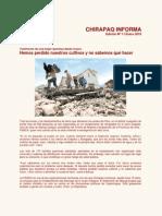 Chirapaq Informa  N°01, Enero 2010