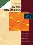Multivariate Data Analysis 7th Edition