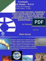 Agricultura Natural Como to de Fixacao Biologica e Manutencao Do Nitrogenio No Solo. Um Modelo Sustentavel de Mdl.