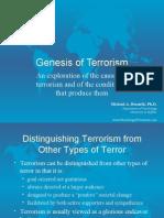 Terrorism Genesis