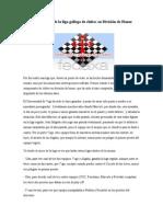 Crónica final de la liga gallega de clubes en división de honor 2012