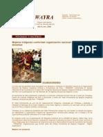 Boletín Wayra. Año 5, N°53 Noviembre 2009