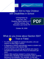 Using Section 504 in School-Final