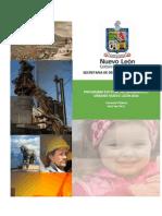Programa Estatal de Desarrollo Urbano Nuevo León 2030