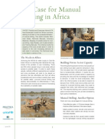 Case for Manual Drilling in Africa
