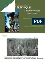 Geomorfología Kárstica