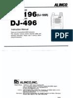 Alinco DJ196-496 VHF Porto Manual