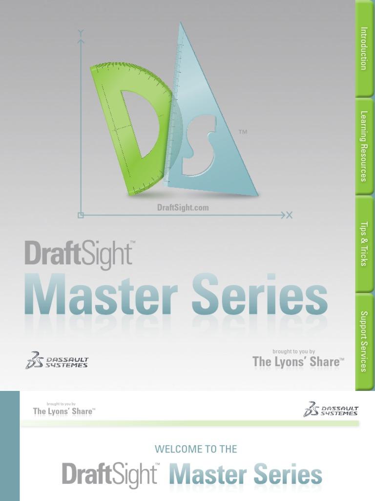 DraftSight Master Series | 2 D Computer Graphics | Cartesian