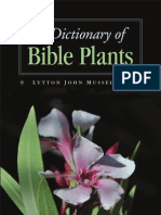 A Dictionary of Bible Plants