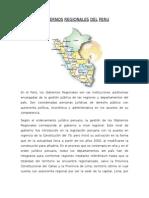 Gobiernos Region Ales Del Peru