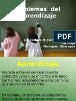 Problemas de Aprendizaje UAM 2012