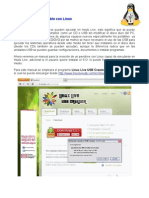 Manual USB Linux