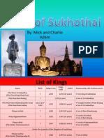 Thai Studies Sukhothai Presentation