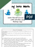 Ocean Math Thinking Maps