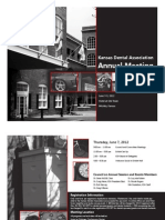 2012 KDA Annual Meeting Registration