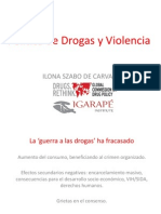 Presentación Ilona Szabo de Carvalho, Secretariado del Global Comission on Drug Policy.