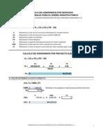 Formula Calculo de Aranceles Fcarm Protegida