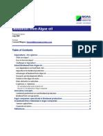 Wagner - Biodiesel From Algae Oil
