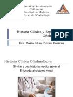 Historía Clínica y Exploración Oftalmológica