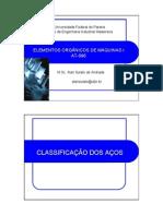 ELEMENTOS ORGÂNICOS DE MÁQUINAS
