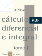 Cálculo diferencial e integral - Tomo 1 (Parte1) - N. Piskunov