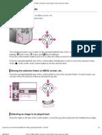 DSC-HX100_HX100V _ Using the Control Button _ Cyber-Shot User Guide