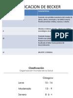CLASIFICACION DE BECKER