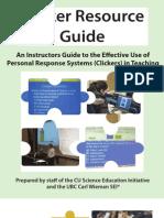Classroom Clicker Guide